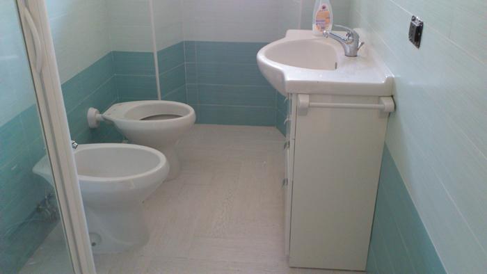 Progetto realizzazione bagno finito impianto scarico u sid