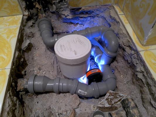Progetto riparazione bagno impianto scarico u sid servizi